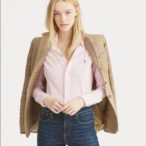 Ralph Lauren Women's Oxford Size 10 Pink & White